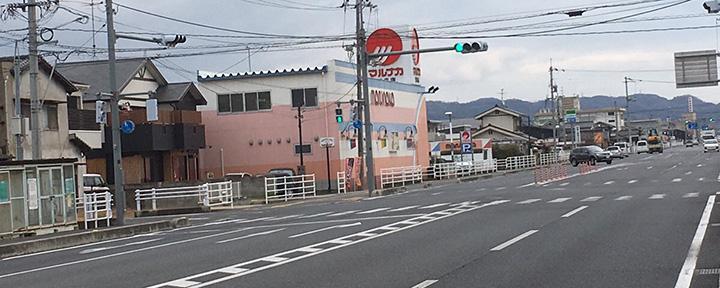 倉敷市の石材店へのアクセス5