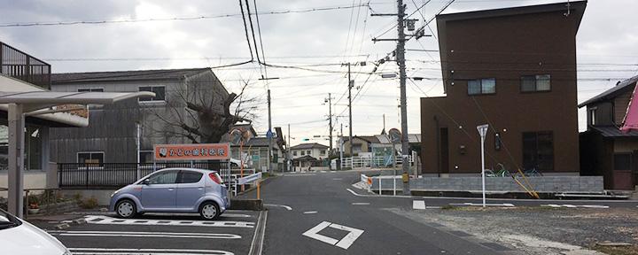 倉敷市の石材店へのアクセス6