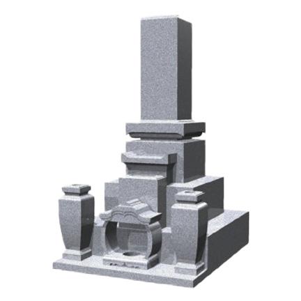 倉敷市石材店 和型墓石1