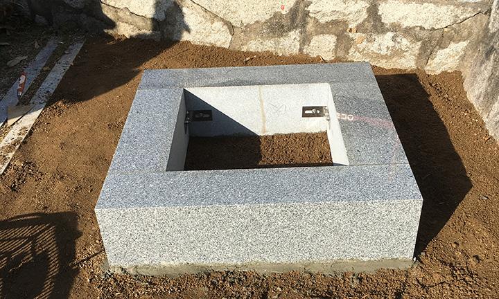 倉敷市石材店のお墓ができるまで11