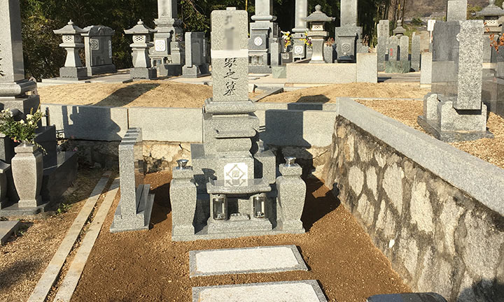 倉敷市石材店のお墓ができるまで14