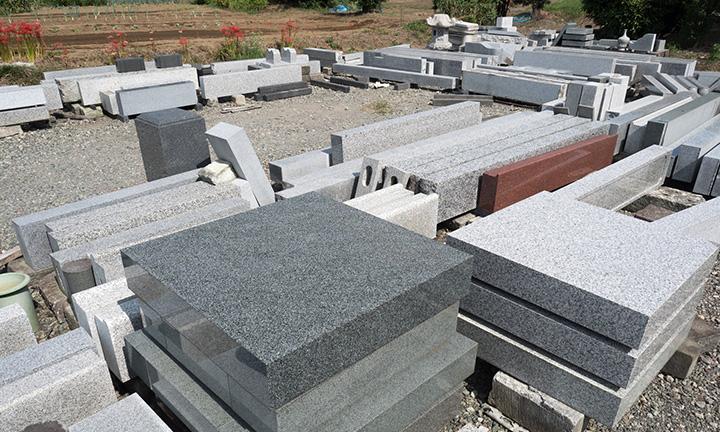 倉敷市石材店の墓石の種類