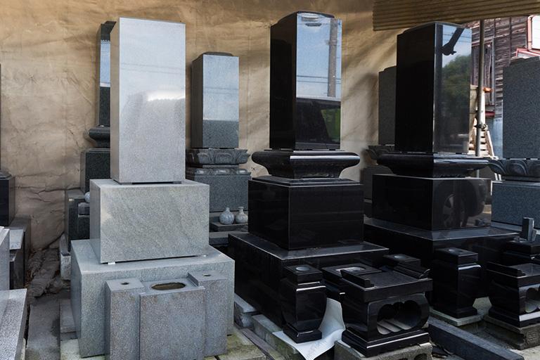 倉敷市石材店の和墓
