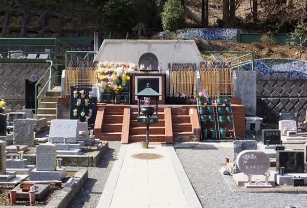 合同墓の実際